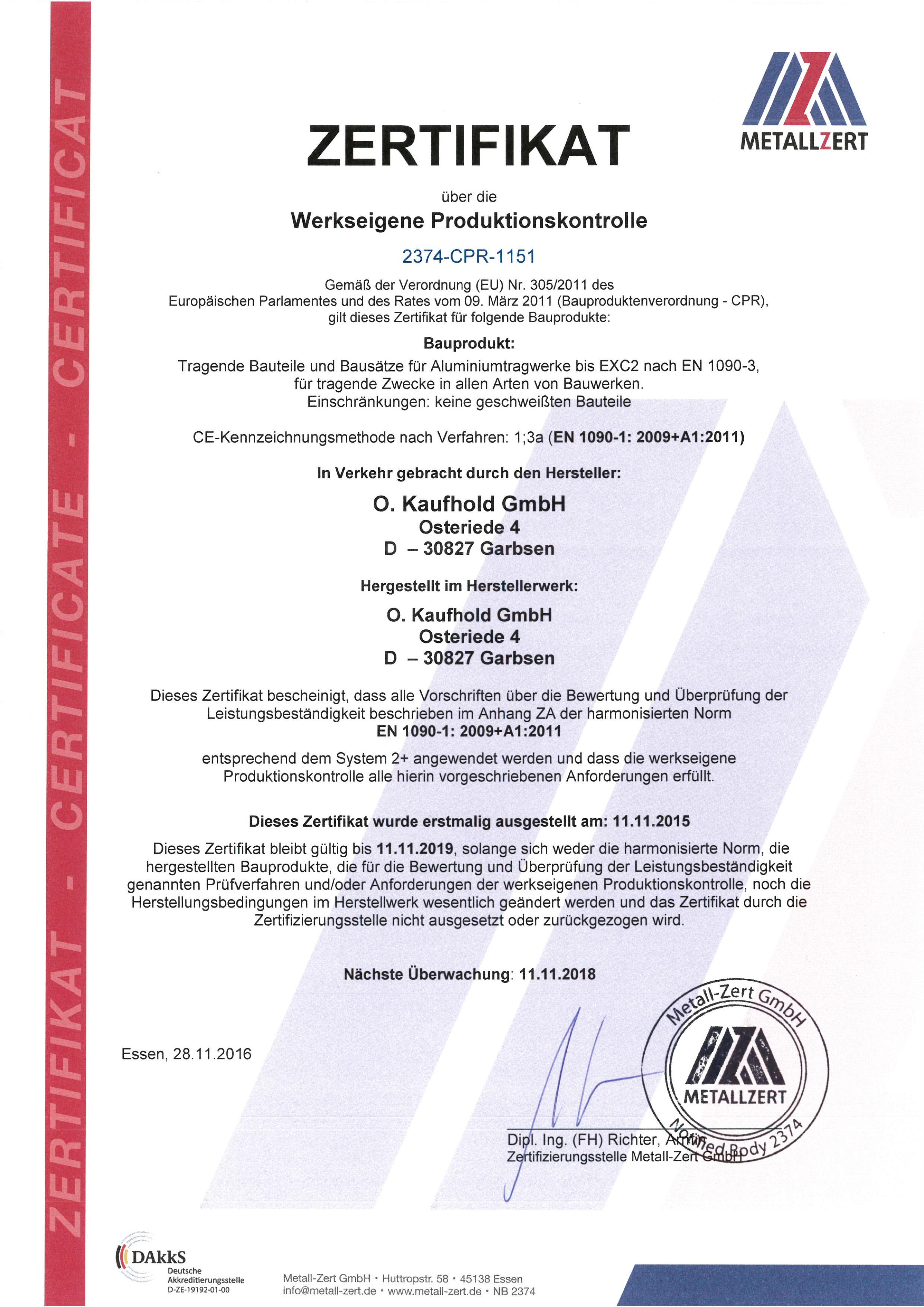 Geländer Vorschriften Din din 1090 zertifizierung