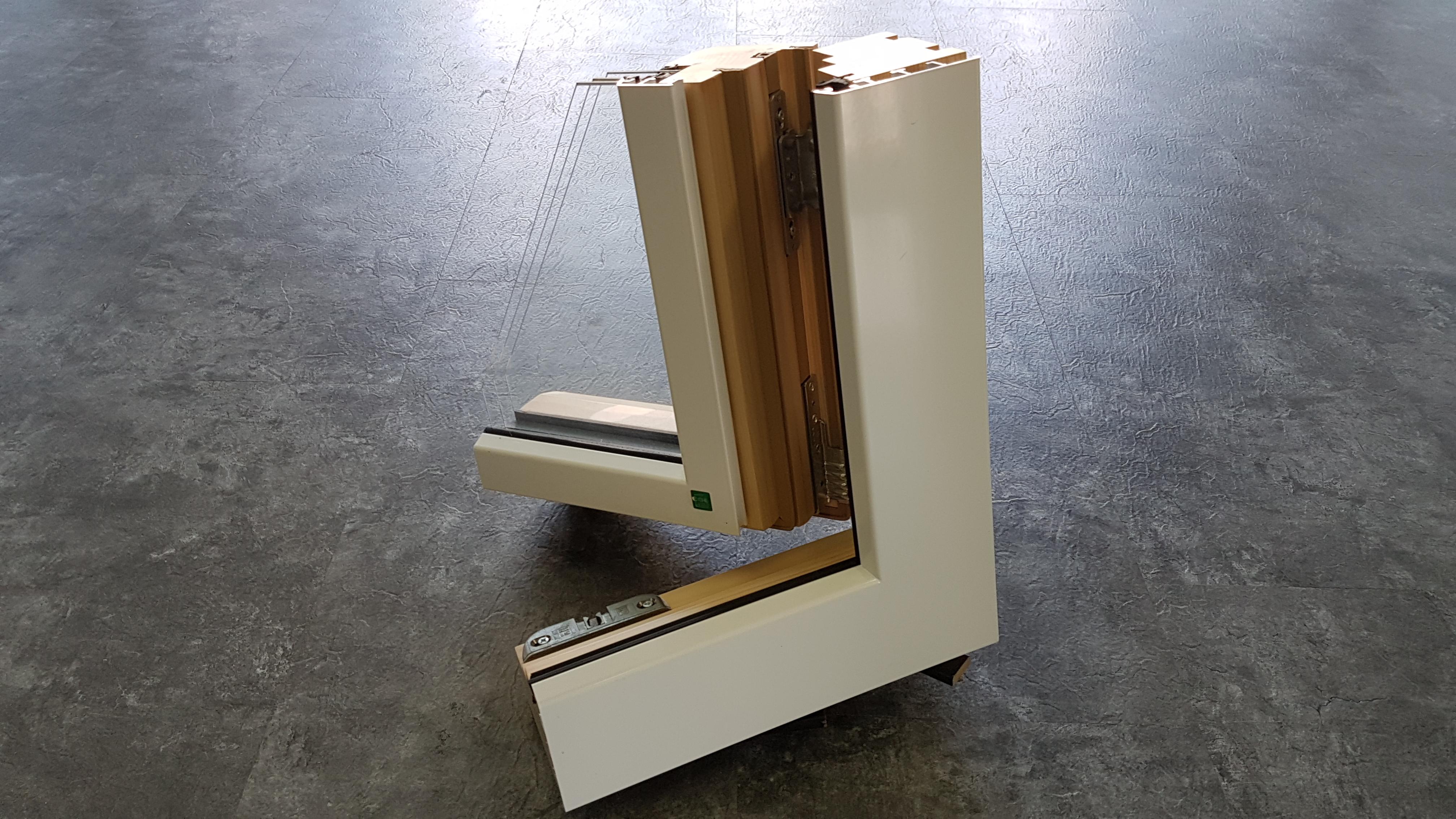 kunststofffenster holzdekor wei. Black Bedroom Furniture Sets. Home Design Ideas